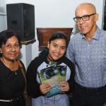 Carmen Lúcia e a neta