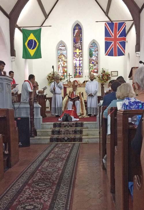 Igreja Anglicana de Santos ordena primeiro padre santista
