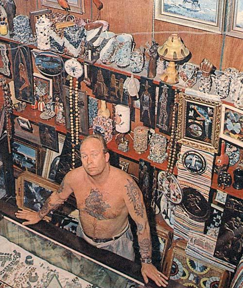 A tatuagem, no Brasil, surgiu em Santos