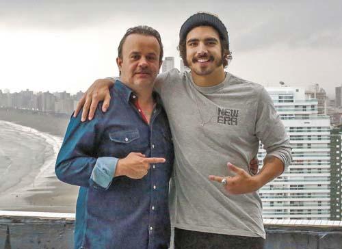 Gente_Rodrigo e Caio Castro