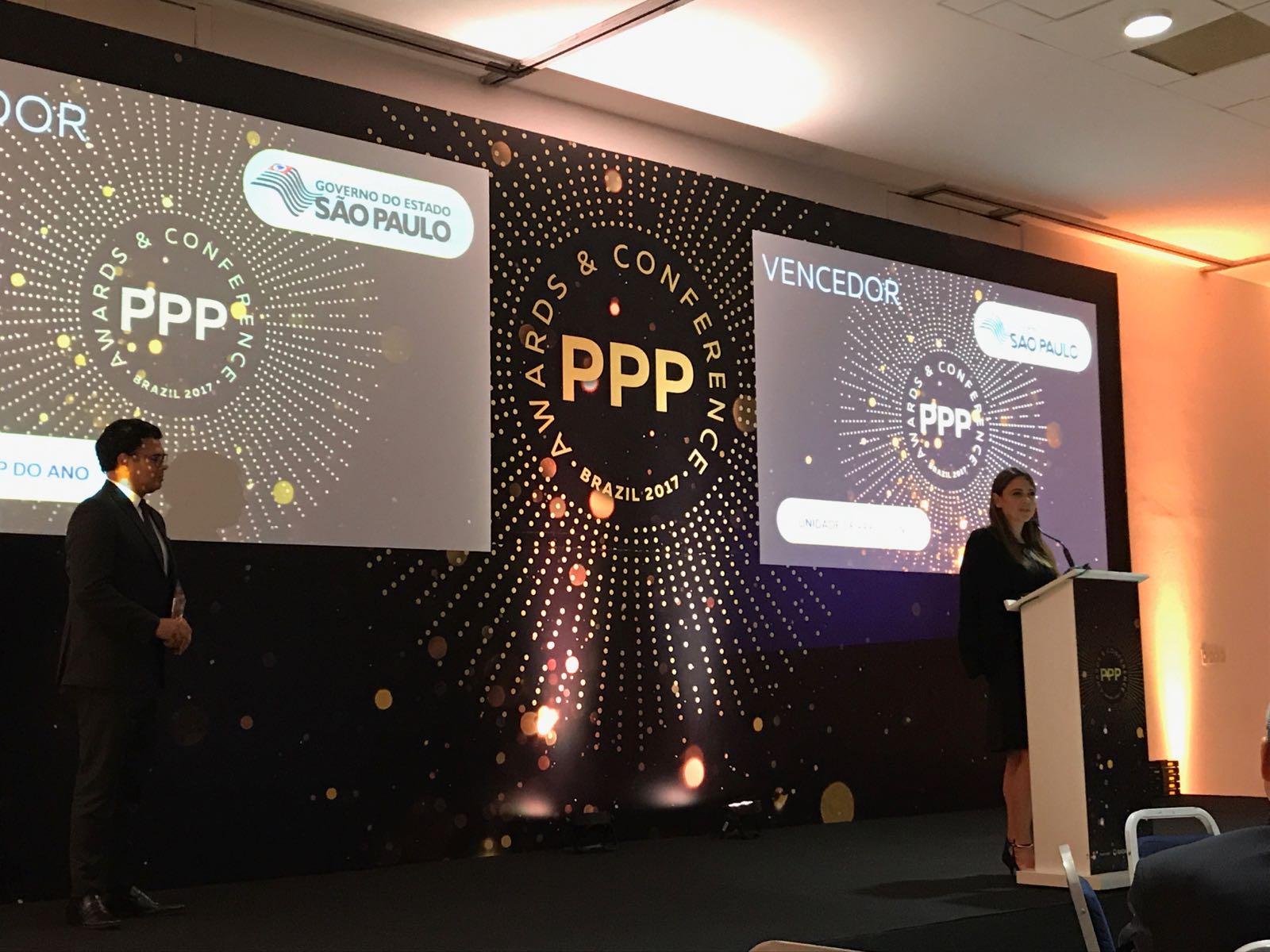 Programa de PPPs do Governo do Estado de São Paulo recebe quatro prêmios