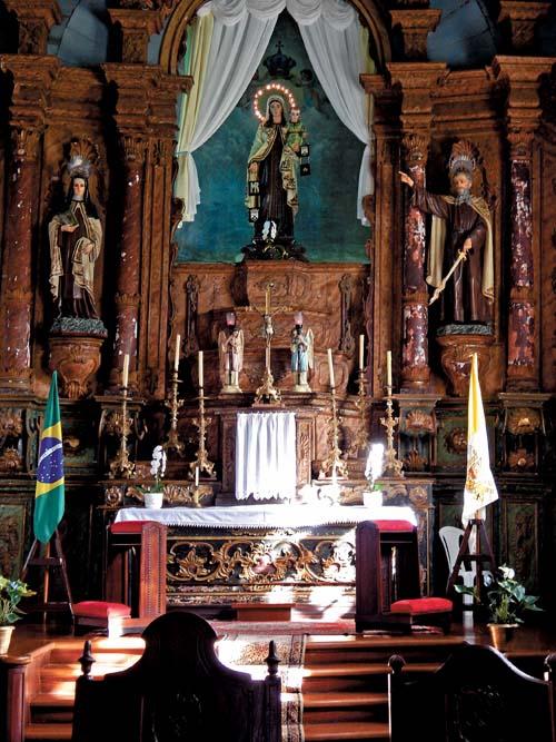 Joia religiosa da arquitetura barroca