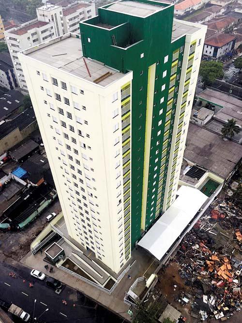 133 unidades entregues em Santos