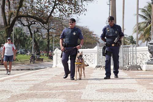Santos melhora indicadores de segurança com apoio da Guarda Municipal