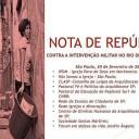 Organizações da Igreja Católica pedem a revogação da intervenção no Rio
