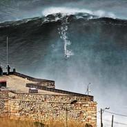 Nazaré e suas ondas gigantes