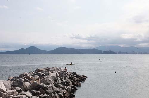 Santos conclui obra para prevenir impacto ambiental na Ponta da Praia