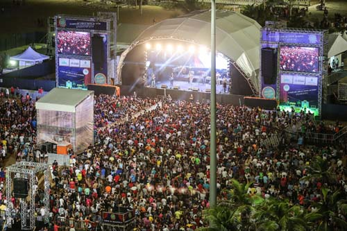 Mais de 20 shows e muita diversão na festa de São João em Fortaleza