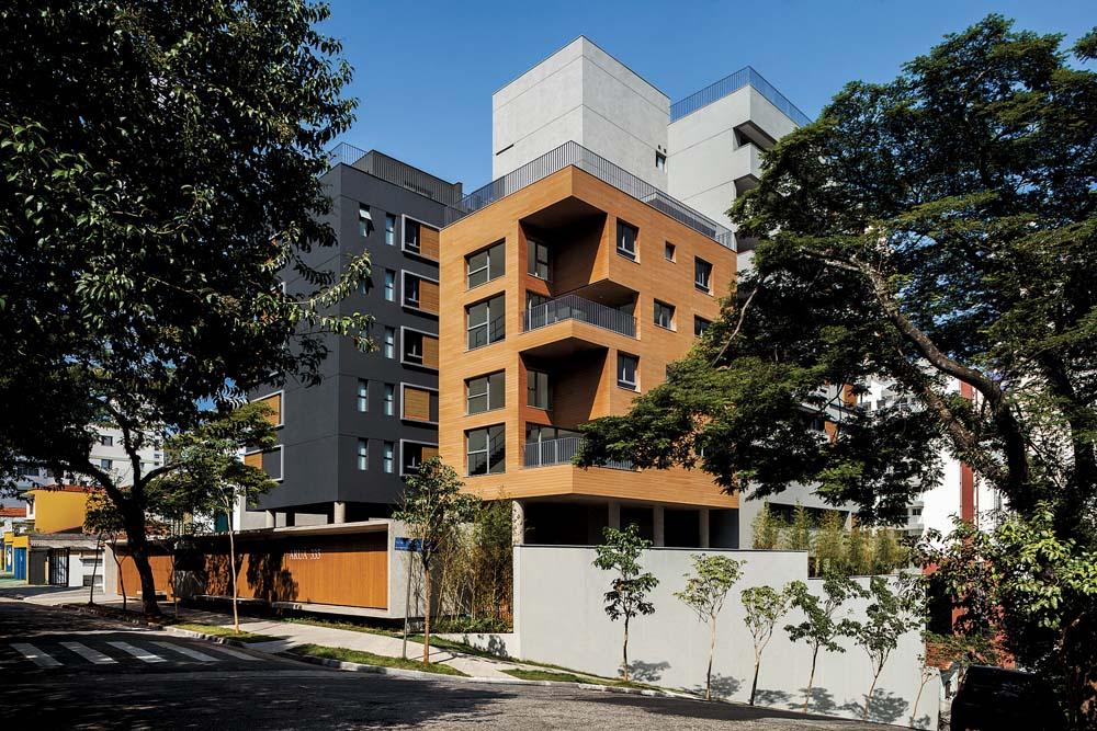 Charme e sustentabilidade na fachada