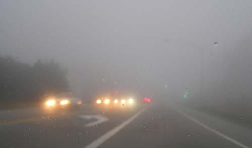 Dirigir sob neblina aumenta riscos de acidentes e mortes