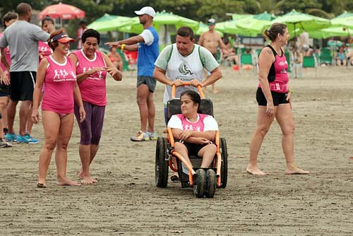 Praia Acessível integrará evento inclusivo no José Menino