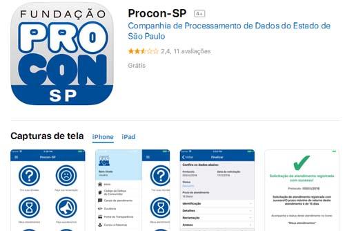 Procon-SP passa a aceitar reclamações e denúncias via aplicativo