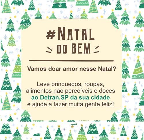 Detran promove Natal Solidário