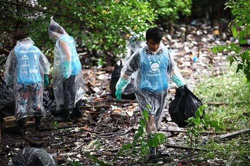 Plano nacional de combate ao lixo marinho é lançado em Santos