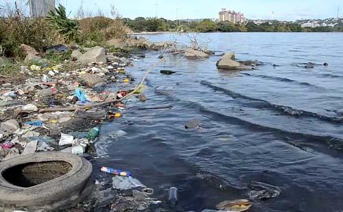 Identificar pontos de poluição das águas e dar assistência aos municípios