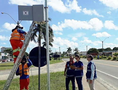 Ipem-SP realiza verificação de radares em Ubatuba e Caraguatatuba