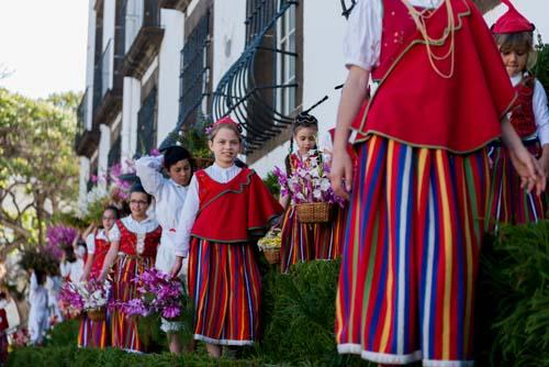 Festa da Flor celebra a Primavera na Ilha da Madeira