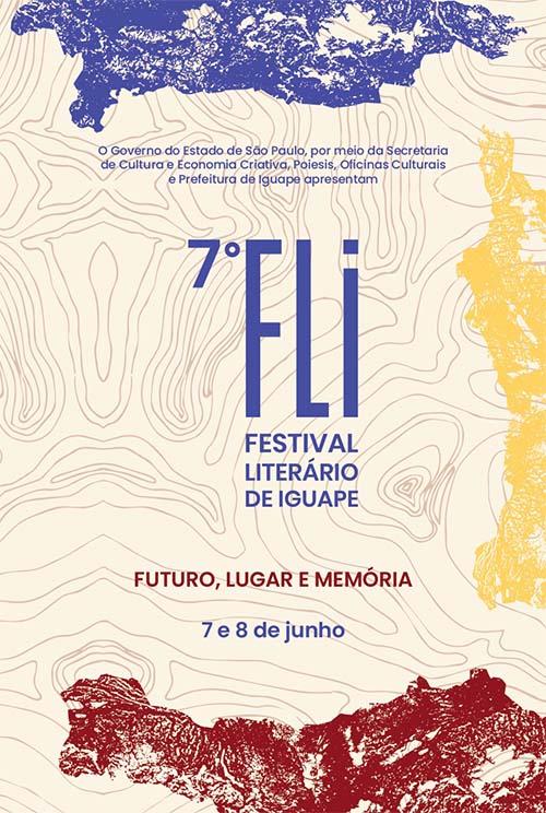 """""""Futuro, Lugar e Memória"""" no Festival Literário de Iguape"""
