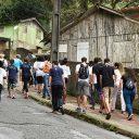 Missão solidária de jovens revitaliza espaços públicos em Santos
