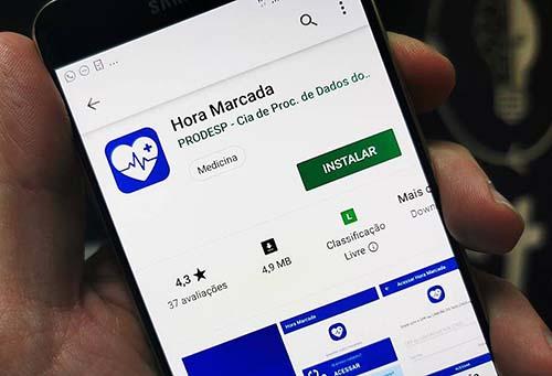 São Paulo cria aplicativo para agendar serviços de saúde pelo celular