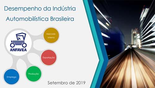Anfavea revisa projeções para 2019 e prevê crescimento de 9,1%