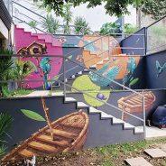 Arte urbana na residência