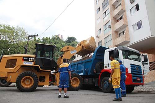 Santos descarta quase 1,2 milhão de m³ de entulho de forma correta