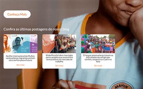 ONG abre inscrições para ajudar refugiados e migrantes venezuelanos
