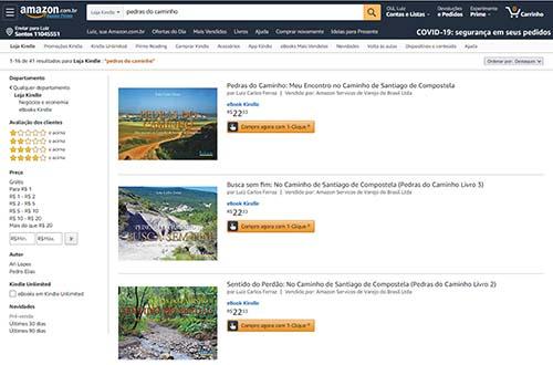 Jornalista disponibiliza a trilogia Pedras do Caminho na versão e-book