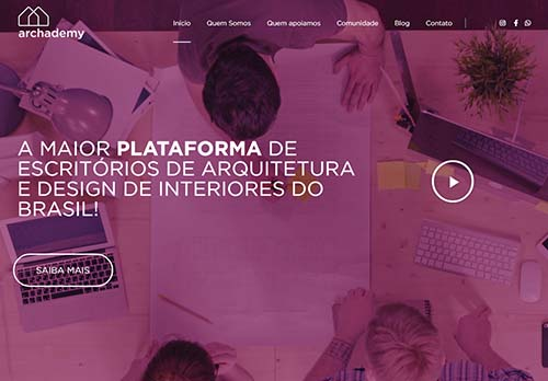 Streaming para arquitetos e designers