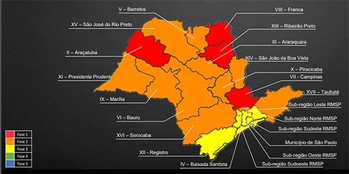 Grande São Paulo, Baixada Santista e Vale do Ribeira avançam à fase amarela