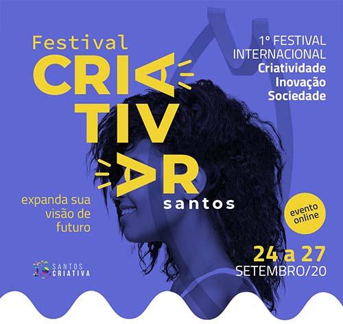 Festival on-line debaterá criatividade, inovação e sociedade