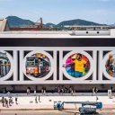 Mural de Eduardo Kobra é atração na nova Ponta da Praia
