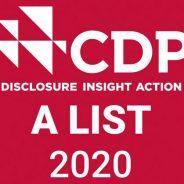 A List CDP 2020: boas práticas ambientais
