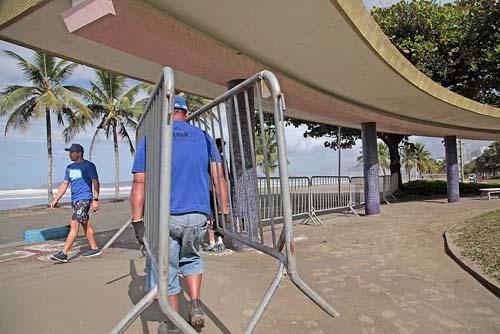Região fechará praias na virada de ano e não aderirá à fase vermelha