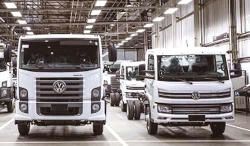 O up da VW. Em caminhões!