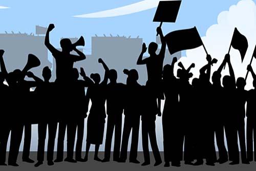 Protesto contra o ICMS