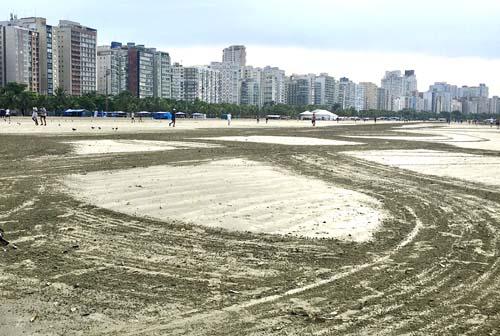 Atenção ao que está permitido e proibido nas praias de Santos