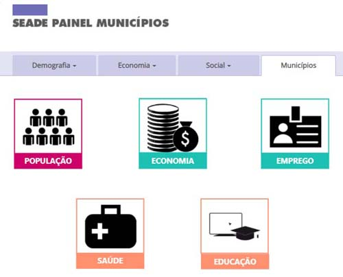 Plataforma digital disponibiliza informações sobre municípios