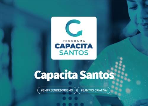 Santos abre duas mil vagas de qualificação com bolsa de R$ 300