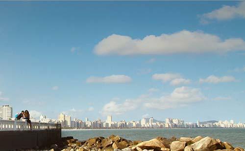 Prefeitura antecipa para amanhã a interdição das praias de Santos