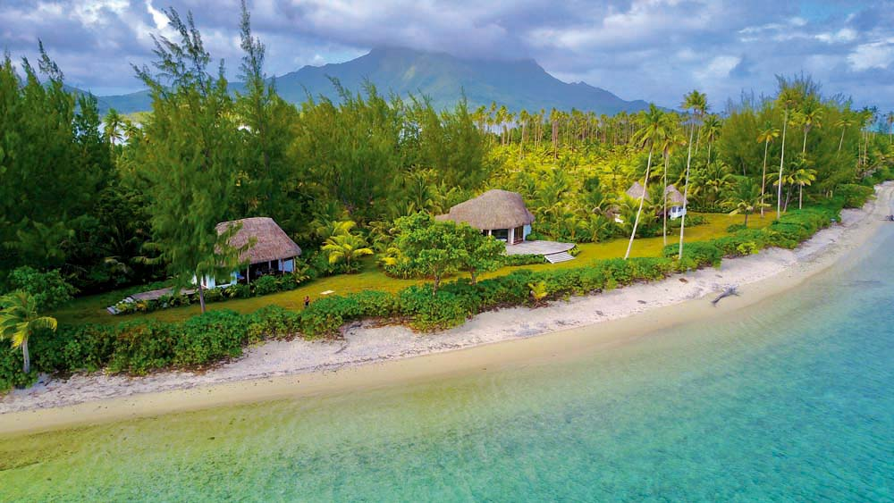 Ilha privativa no Tahiti