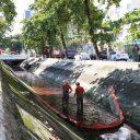 Hipermercado Carrefour em Santos é intimado por vazamento de óleo diesel