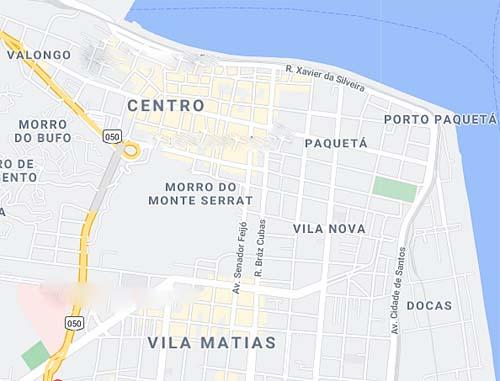 Santos prorroga cadastro de imóveis da região Central para criação de moradias