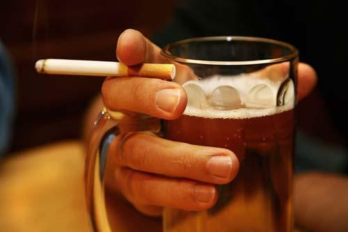 Cigarro, álcool e o câncer de boca