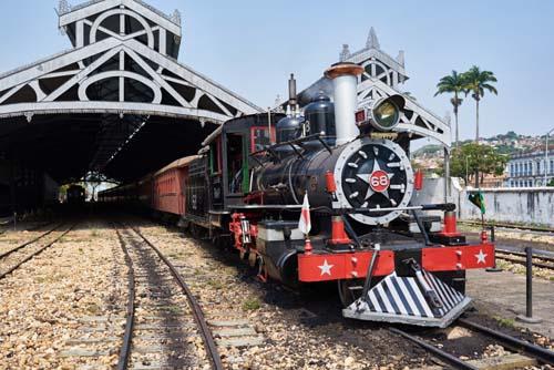 A partir de hoje trem turístico volta a circular em Minas Gerais