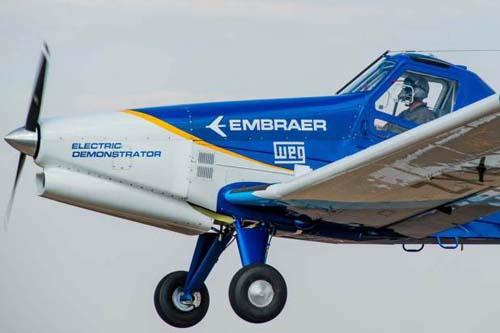 Avião elétrico entra em testes